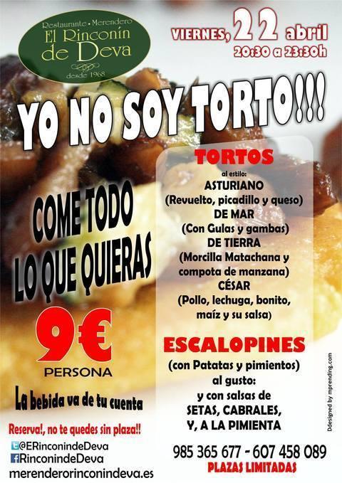 Rinconin de Deva - FESTIVAL DE TORTOS ABRIL 2016 - El Rinconín de Deva